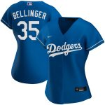 Nike Cody Bellinger Los Angeles Dodgers Women's Royal Alternate 2020 Replica Player Jersey
