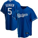 Nike Corey Seager Los Angeles Dodgers Royal Alternate 2020 Replica Player Jersey