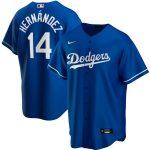 Nike Enrique Hernandez Los Angeles Dodgers Royal Alternate 2020 Replica Player Jersey