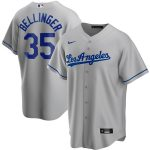 Nike Cody Bellinger Los Angeles Dodgers Gray Road 2020 Replica Player Jersey