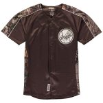 Stitches Los Angeles Dodgers Youth Realtree Camo Replica Jersey