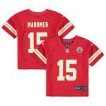 Nike Patrick Mahomes Kansas City Chiefs Toddler Red Game Jersey