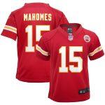 Nike Patrick Mahomes Kansas City Chiefs Preschool Red Game Jersey