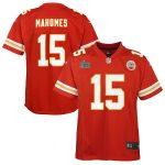 Nike Patrick Mahomes Kansas City Chiefs Youth Red Super Bowl LIV Game Jersey