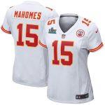 Nike Patrick Mahomes Kansas City Chiefs Women's White Super Bowl LIV Game Jersey