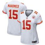 Nike Patrick Mahomes Kansas City Chiefs Women's White Player Game Jersey