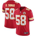 Nike Derrick Thomas Kansas City Chiefs Red Retired Player Vapor Untouchable Limited Throwback Jersey