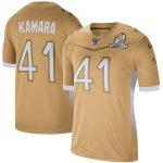 Nike Alvin Kamara Gold 2020 NFC Pro Bowl Game Jersey