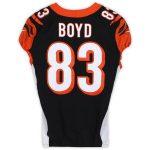 Fanatics Authentic Tyler Boyd Cincinnati Bengals Game-Used #83 Jersey vs. Pittsburgh Steelers on November 24, 2019