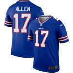 Nike Josh Allen Buffalo Bills Royal Legend Jersey