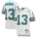 Mitchell & Ness Dan Marino Miami Dolphins Youth Platinum NFL 100 Retired Player Legacy Jersey
