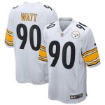 Nike T.J. Watt Pittsburgh Steelers Youth White 2018 Game Jersey