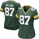Nike Jordy Nelson Green Bay Packers Girls Youth Green Game Jersey