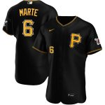 Nike Starling Marte Pittsburgh Pirates Black Alternate 2020 Authentic Player Jersey