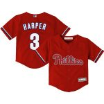 Bryce Harper Philadelphia Phillies Toddler Alternate Replica Player Jersey - Red