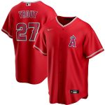 Nike Mike Trout Los Angeles Angels Red 2020 Spring Training Replica Player Jersey