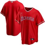 Nike Los Angeles Angels Youth Red Alternate 2020 Replica Team Jersey
