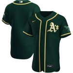 Nike Oakland Athletics Green Alternate 2020 Authentic Team Jersey