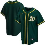 Nike Oakland Athletics Youth Green Alternate 2020 Replica Team Jersey