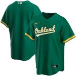 Nike Oakland Athletics Youth Kelly Green Alternate 2020 Replica Team Jersey