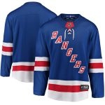 Fanatics Branded New York Rangers Youth Royal Breakaway Home Jersey