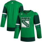 adidas New York Rangers Green 2020 St. Patrick's Day Jersey