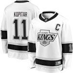Fanatics Branded Anze Kopitar Los Angeles Kings White Heritage Premier Breakaway Player Jersey