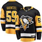 Fanatics Branded Jake Guentzel Pittsburgh Penguins Black Home Premier Breakaway Player Jersey