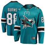 Fanatics Branded Brent Burns San Jose Sharks Youth Teal Breakaway Player Jersey