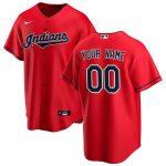 Nike Cleveland Indians Red Alternate 2020 Replica Custom Jersey