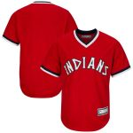 Cleveland Indians Red Big & Tall Cooperstown Collection Replica Team Jersey