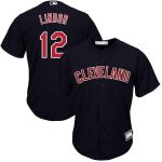 Francisco Lindor Cleveland Indians Navy Big & Tall Replica Player Jersey