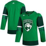 adidas Florida Panthers Green 2020 St. Patrick's Day Jersey