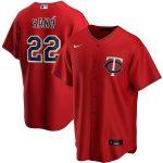 Nike Miguel Sano Minnesota Twins Red Alternate 2020 Replica Player Jersey