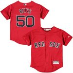 Mookie Betts Boston Red Sox Youth Red Official Cool Base Player Jersey