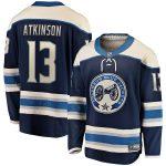 Fanatics Branded Cam Atkinson Columbus Blue Jackets Navy Alternate Premier Breakaway Player Jersey