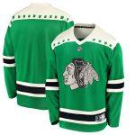 Fanatics Branded Chicago Blackhawks Green 2020 St. Patrick's Day Replica Jersey