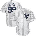 Aaron Judge New York Yankees White Big & Tall Replica Player Jersey