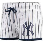 Concepts Sport New York Yankees Women's White/Navy Vigor Sleep Shorts