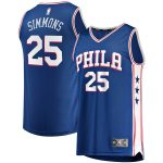 Fanatics Branded Ben Simmons Philadelphia 76ers Youth Royal 2019/20 Fast Break Replica Jersey - Icon Edition