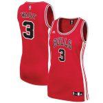 adidas Dwyane Wade Chicago Bulls Women's Red Replica Jersey