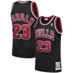 Mitchell & Ness Michael Jordan Chicago Bulls Black 1997-98 Hardwood Classics Authentic Player Jersey