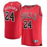 Fanatics Branded Lauri Markkanen Chicago Bulls Youth Red Fast Break Replica Jersey - Icon Edition