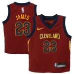 Nike LeBron James Cleveland Cavaliers Toddler Maroon Replica Jersey - Icon Edition