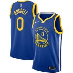 Nike D'Angelo Russell Golden State Warriors Royal 2018/19 Swingman Jersey - Icon Edition