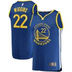 Fanatics Branded Andrew Wiggins Golden State Warriors Youth Royal Fast Break Road Player Jersey
