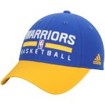 adidas Golden State Warriors Royal 2-Tone Practice Slouch Adjustable Hat