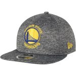 New Era Golden State Warriors Heathered Gray City Sided 9FIFTY Original Fit Adjustable Hat
