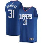 Fanatics Branded Marcus Morris LA Clippers Royal Fast Break Road Player Jersey