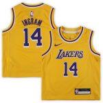 Nike Brandon Ingram Los Angeles Lakers Preschool Gold 2018/19 Replica Jersey - Icon Edition